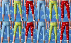 Sims 3 leggings, clothing, girls