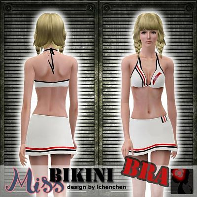 Sims 3 bikini, bra, clothing, fashion