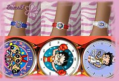 Sims 3 watch, Powerpuff girls, Betty Boop