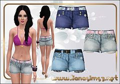 Sims 3 outfit, clothing, clothes, fashion, shorts