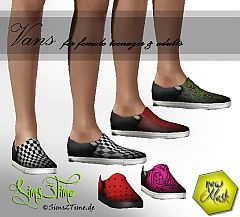 Sims 3 Sneakers, vans. shoes