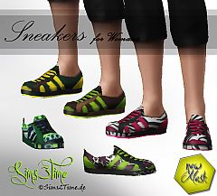 Sims 3 Sneakers, shoes