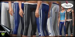 Sims 3 cloth, sport, pants, athletic, male