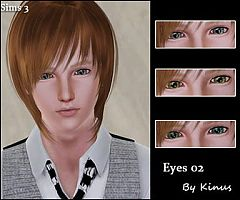 Sims 3 eyes, genetics, almond