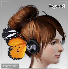 Sims 3 headphones, accessories