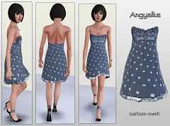 Sims 3 dress, fashion, girls