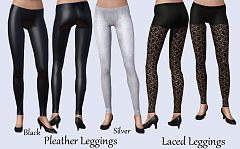 Sims 3 accessories, leggings, cloth