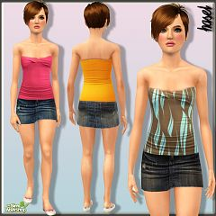 Sims 3 cloth, outfit, teen, fashion