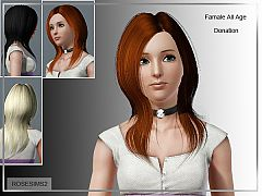 Sims 3 hairstyle, long, short, genetics, hair