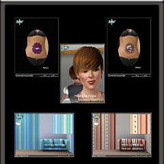 Sims 3 tattoo, tattoos, sims, house, furniture