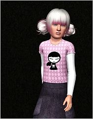 Sims 3 cloth, top, fashion, girls