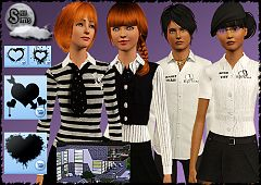 Sims 3 clothing, fashion, top, outfit