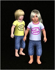 Sims 3 top, shirt, toddler, fashion