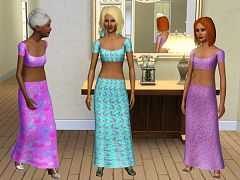 Sims 3 formal, female, outfit, clothing