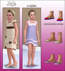 Sims 3 shoes, girls