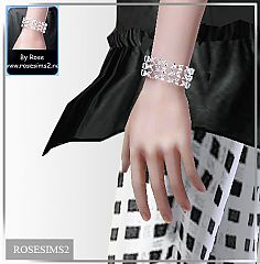 Sims 3 bracelet, jewelry, accessories, female, male, neck