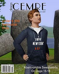 Sims 3 Abercrombie, Sweatshirt, Replica, men