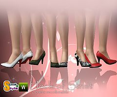 Sims 3 shoes, heels, pumps