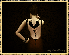 Sims 3 tatoo, female, male, accessories