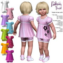 Sims 3 cloth, outfit, toddler, fashion