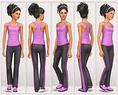 Sims 3 pants, cloth, clothes, fashion