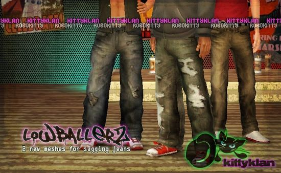 Sims 3 jeans, pants, bottom, clothing, male