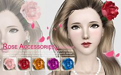 Sims 3 rose, accessories, fashion