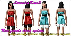Sims 3 Belted, dress