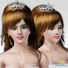 Sims 3 headwear, tiara, jewelry, hat