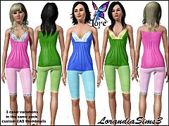 Sims 3 Blouse, leggings, outfit