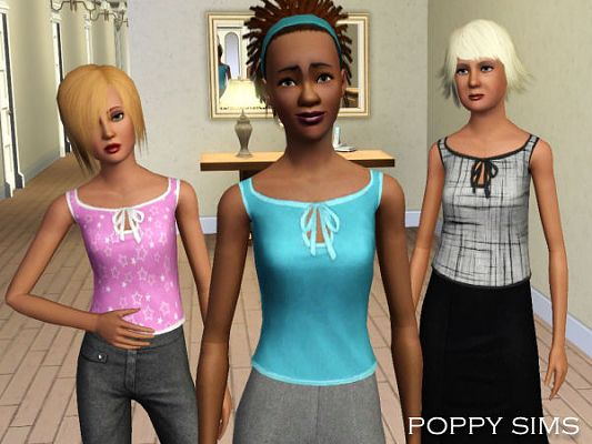 Sims 3 top, clothing, fashion, female