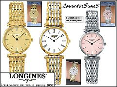 Sims 3 Longines, watches