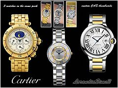 Sims 3 Cartier, watches