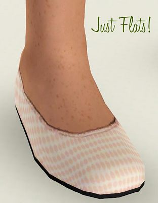 Sims 3 shoes, flats, children