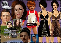 Sims 3 clothing, fashion, dress, sims, toddler