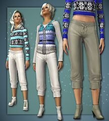 Sims 3 pants, cloth, clothes, fashion, bottom