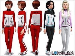 Sims 3 outfit, clothing, sport, athletic, jacket, pants