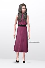 Sims 3 dress, cloth, clothes, outfit, fashion