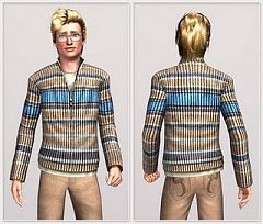 Sims 3 sweater, male, cloth, fashion