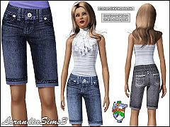 Sims 3 Knee, jeans