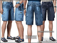 Sims 3 Knee, cargo, jeans
