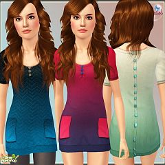 Sims 3 outfit, cloth, clothes, dress, fashion