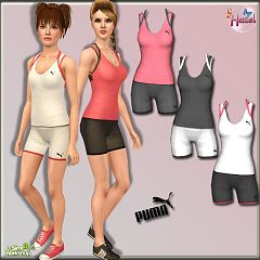 Sims 3 sport, cloth, athletic, puma