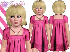 Sims 3 dress, fashion, clothing, child