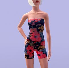 Sims 3 playsuit, outfit, cloth, clothes, fashion