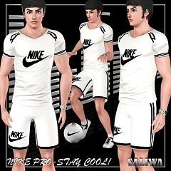 Sims 3 nike, sport, athletic, set, male, cloth, clothes