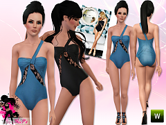 Sims 3 swim, swimsuit, swimwear, fashion