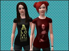 Sims 3 cloth, top, fashion, female