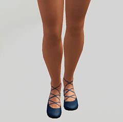 Sims 3 ballerinas, shoes, female