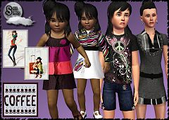 Sims 3 outfits, females, clothing, fashion